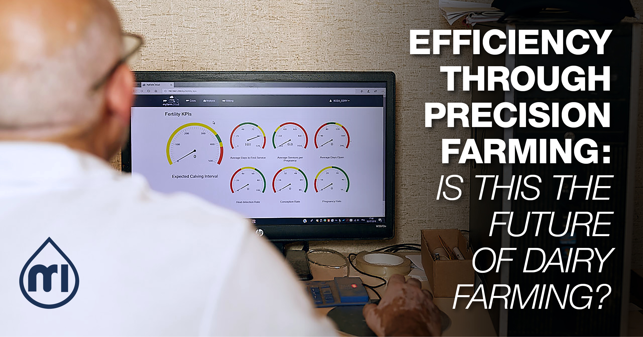 Efficiency through Precision Farming: is this the future of dairy farming?