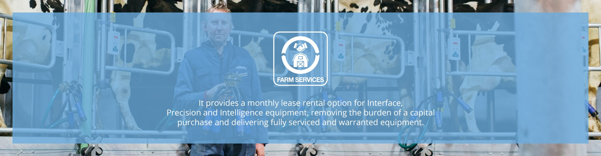 Farm Services Banner Light Blue