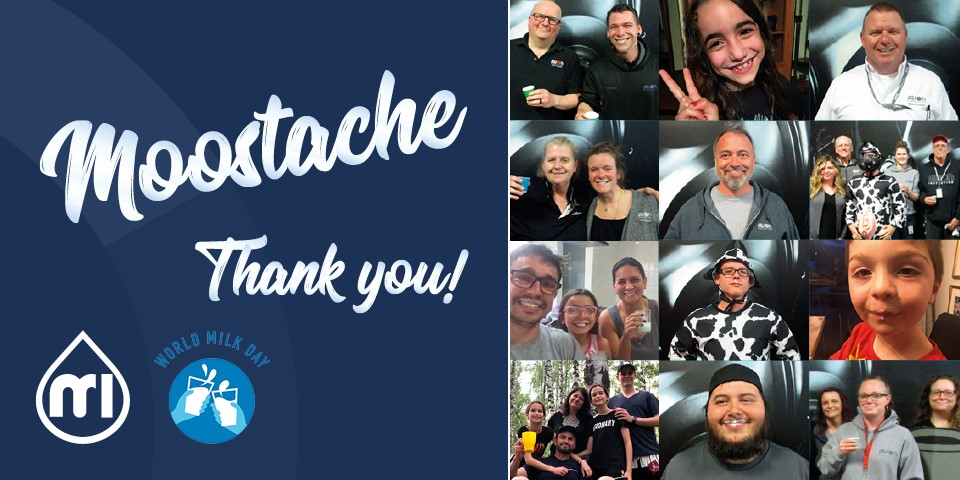 Thank you for taking part in our milk moostache campaign!